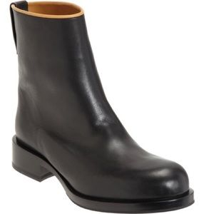 Jil Sander Topline Leather Boot